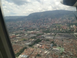 Landing in EOH Airport