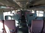 A quiet first class cabin