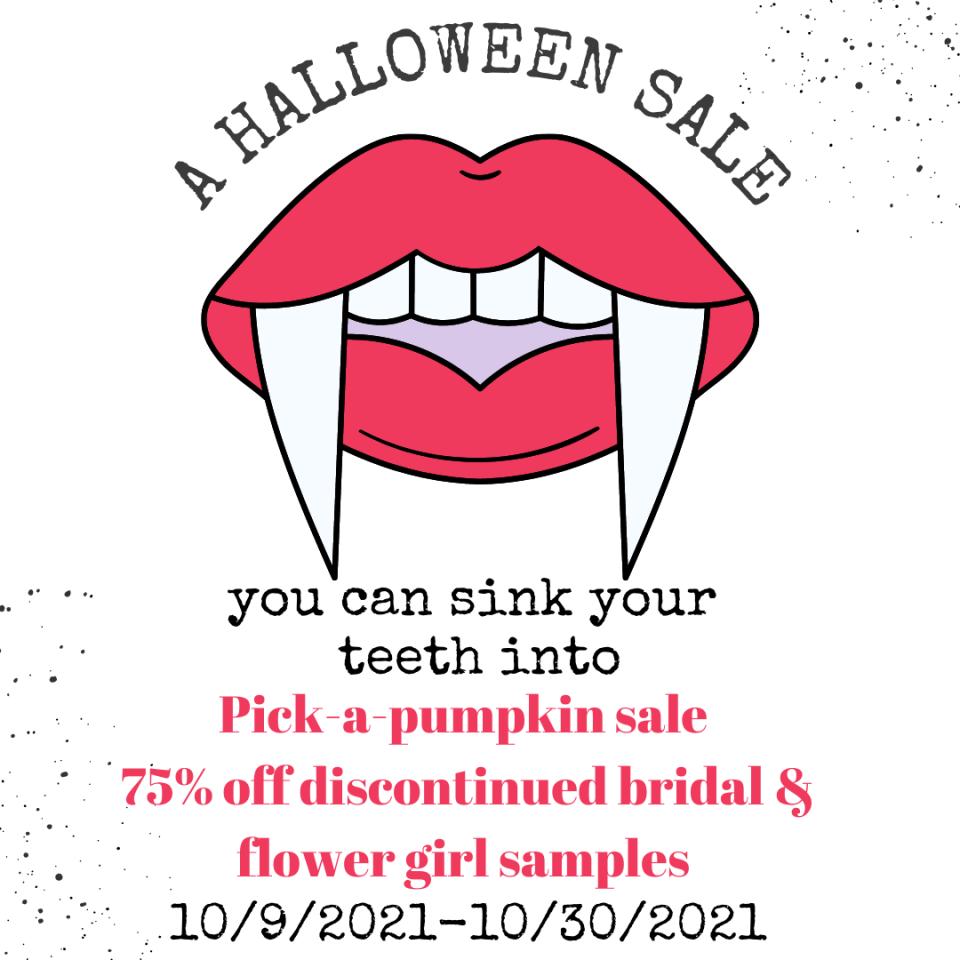 Halloween Vampire Teeth Instagram Post