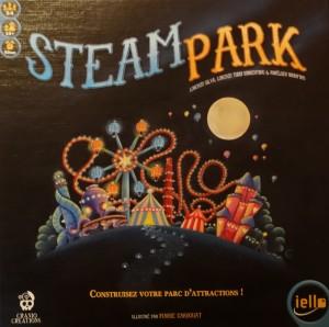La boîte du jeu Steam Park