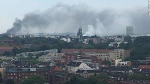 Os piores conflitos de Hamburgo não são os que fazem fumo