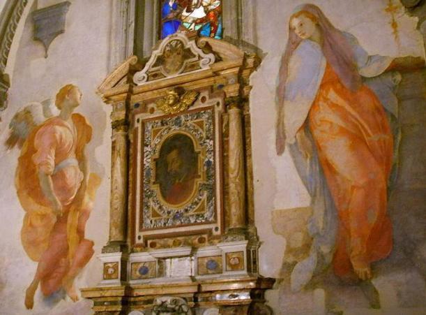 Jacopo Pontormo, Anunciação, S. Felicita, Florença, 1528