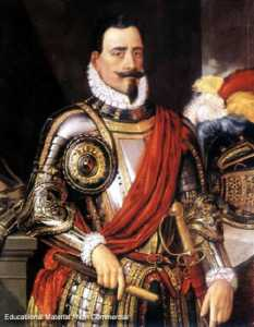 Europeu a matar indios Chilenos para a gloria da coroa Espanhola