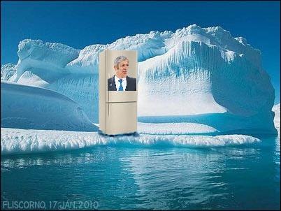 sócrates vendedor de frigoríficos no pólo norte