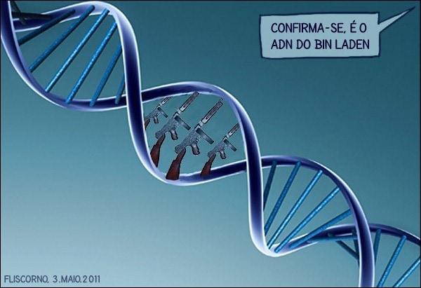 confirma-se é o ADN do bin laden