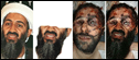 Osama Bin Laden fotomontagem Photoshop