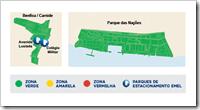 Custo do estacionamento em Lisboa