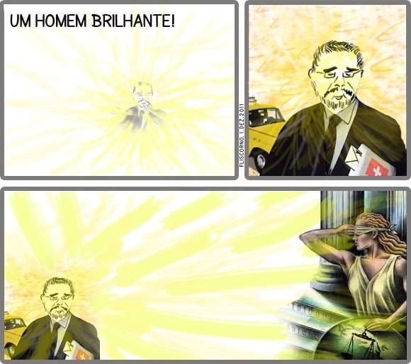 isaltino, um homem brilhante