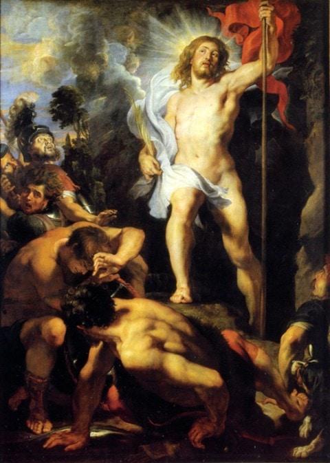 Peter Paul Rubens, A Ressurreição, painel central, 1612