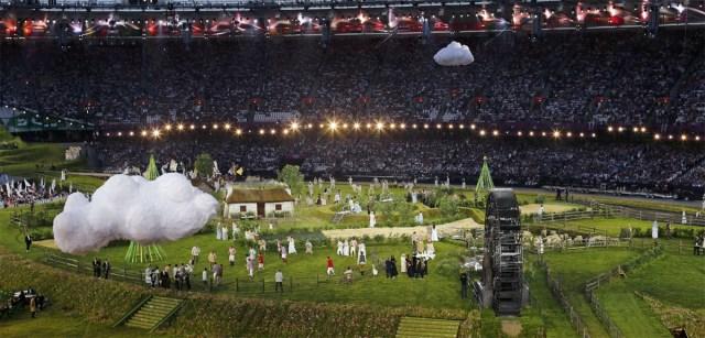 Abertura dos jogos olímpicos - Londres 2012