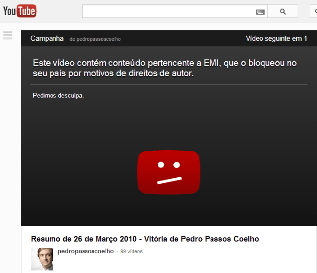 passos coelho youtube