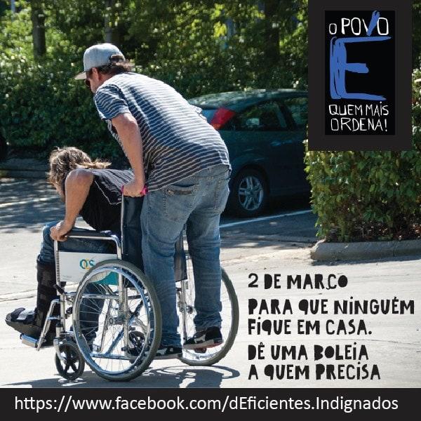 2 março deficientes