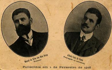 Manuel Buiça e Alfredo Costa- herois nacionais