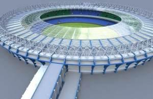 Estádio: Vivaldo Lima (Vivaldão), Manaus Escritório responsável pelo projeto: o alemão Gerkan Marg und Partner (GMP) Valor estimado da obra: R$ 500 milhões...