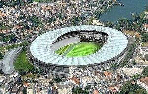 Estádio: Jornalista Mário Filho (Maracanã), Rio de Janeiro Escritório responsável pelo projeto: Castro Mello Arquitetos Valor estimado da obra: R$ 460 milhões...