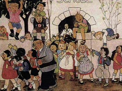 Crianças judias expulsas de escola nazi