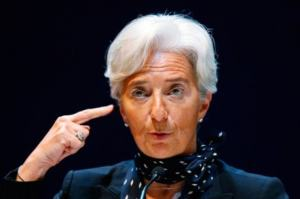 A astróloga Lagarde