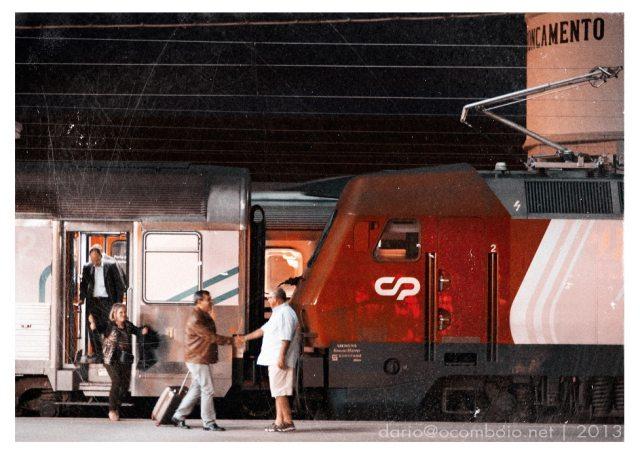 o-comboio-no-entroncamento