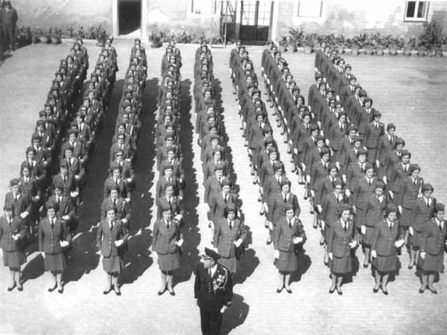mulheres policia 1972