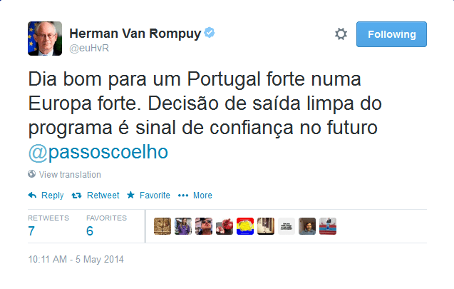 Van Rompuy tweet 2