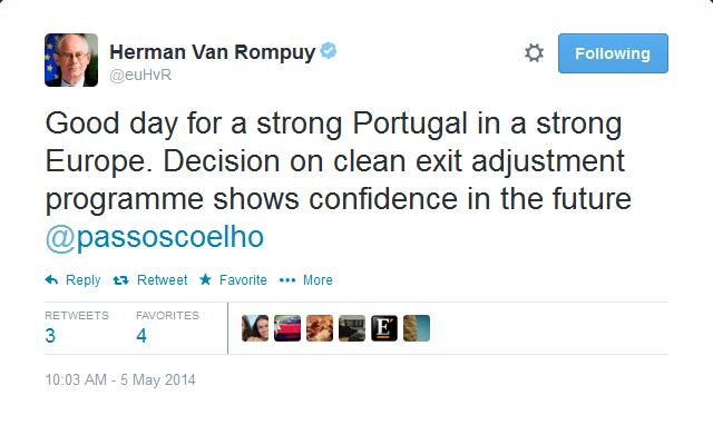 Van Rompuy tweet