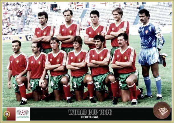 portugal selecçao 1986 méxico