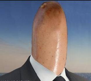 homem salsicha
