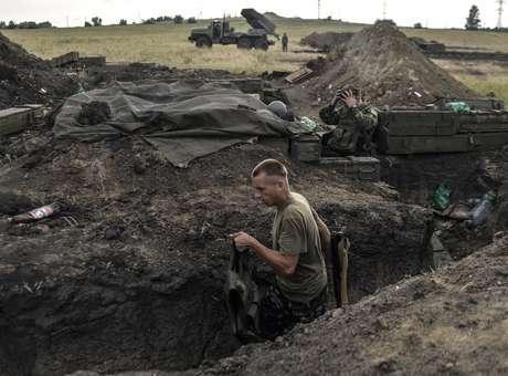 ucrania trincheiras