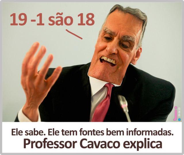professor cavaco