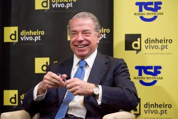 Lisboa, 09/05/2013 - Entrevista Dinheiro Vivo / TSF : Tudo é Economia, com Ricardo Salgado (Diana Quintela / Global Imagens)