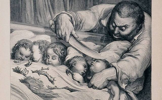 Gustave Doré, ilustração para «O Pequeno Polegar»