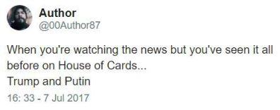 Ver no House of Cards antes de ver nas notícias