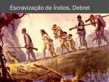 Escravização de Índios, Debret