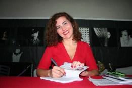 La Periodista Ana Gamero, autora del libro