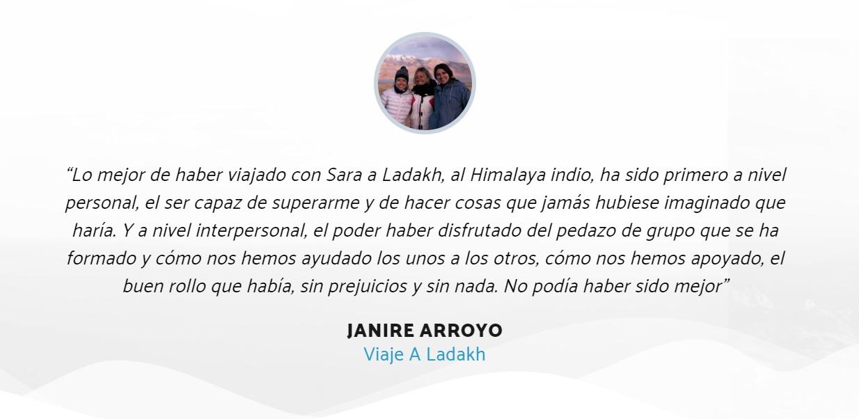 Testimonio Janire