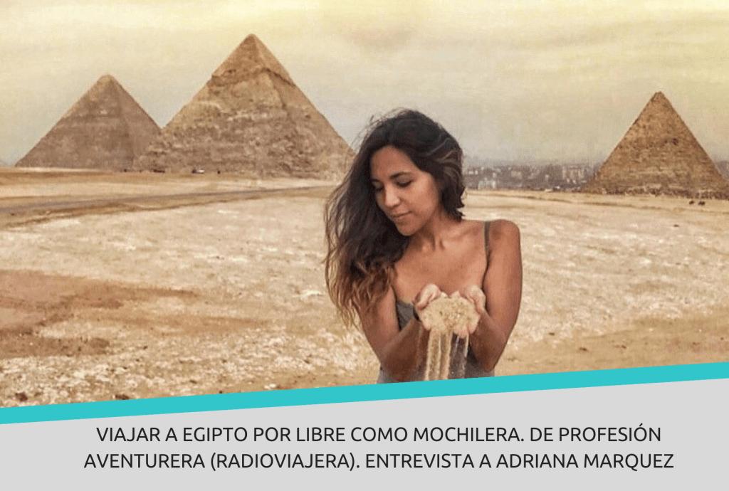 Viajar a Egipto por libre como mochilera