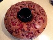 ambasador - - tarta de chocolate con cerezas confitadas