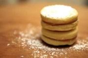 galletas de la sartén con dulce de leche