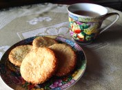 galletas con coco y limon