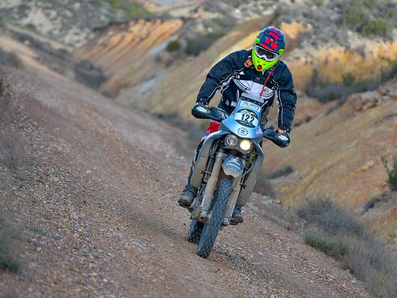 Entrenamiento previo al Merzouga Rally 2018, abierto a motos trail