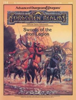 Swords of the Iron Legion (capa)
