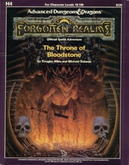Aventura - The Throne of Bloodstone (capa)