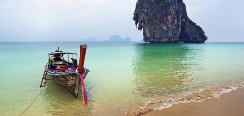 Plaja Railay, Krabi, Thailanda