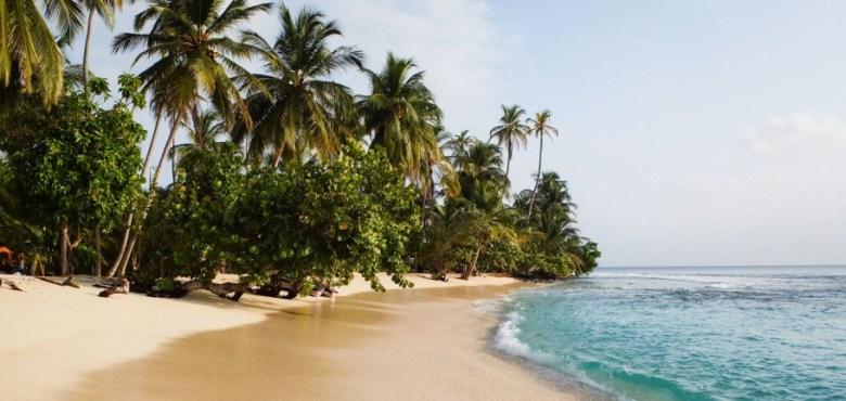 Insula San Blas, Panama.