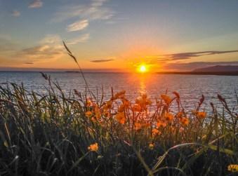 Soleil de minuit, par Thomas