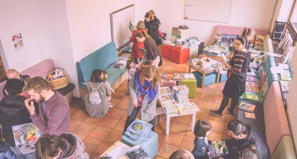 Aventuri in cinci Salonul de carte Ce le citim copiilor_4