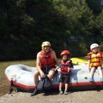 Aventuri in cinci Rafting cu copiii Master Adventure
