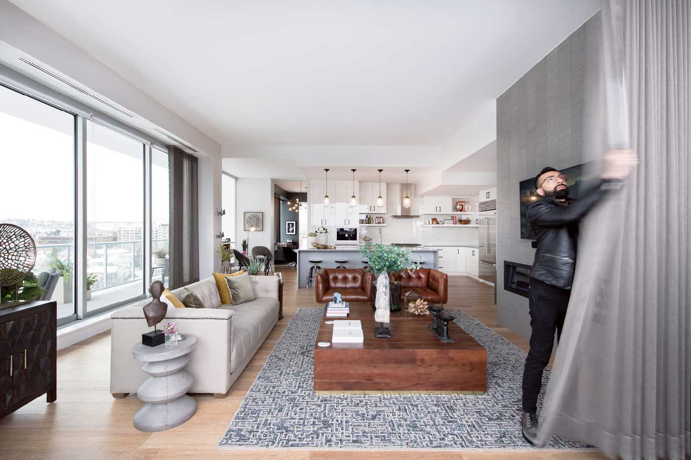 Inside A Hillhurst Penthouse With A Panoramic View Of