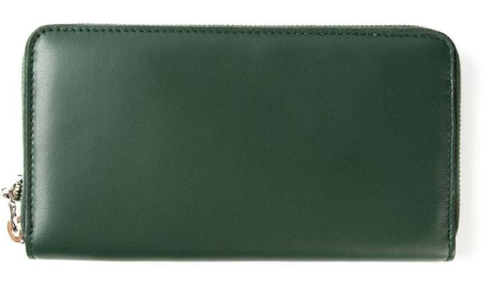 Alexander McQueen zip around wallet