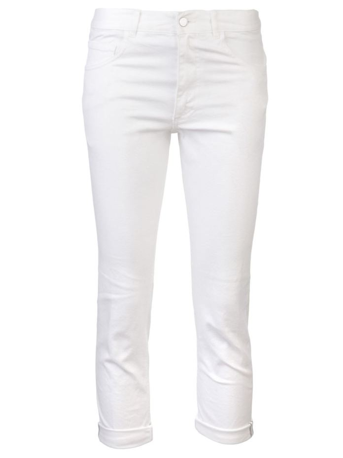 White cotton Standard jeans from Golden Goose Deluxe Brand